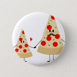 pizza de fête des pères badge