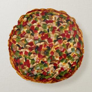 Pizza de luxe coussins ronds
