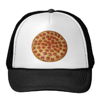 Pizza de pepperoni délicieuse de pizza… casquettes de camionneur