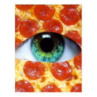 Pizza d'Illuminati Carte Postale
