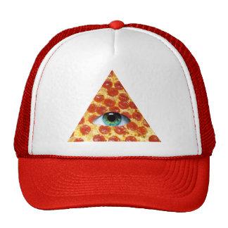 Pizza d'Illuminati Casquette De Camionneur