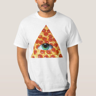 Pizza d'Illuminati T-shirts