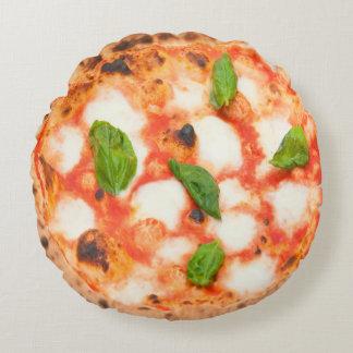 pizza italienne de margherita coussins ronds