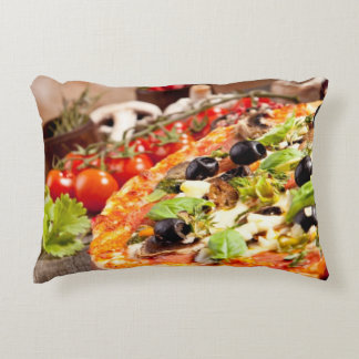 Pizza italienne fraîche coussins décoratifs