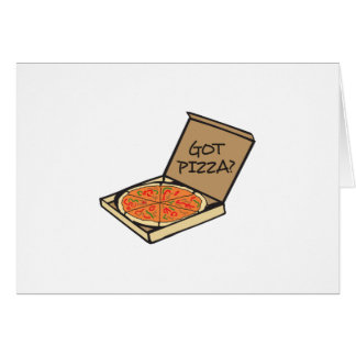 PIZZA OBTENUE CARTE DE VŒUX