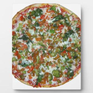 pizza photo sur plaque
