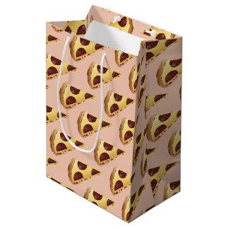Pizza pour les gens sac cadeau moyen