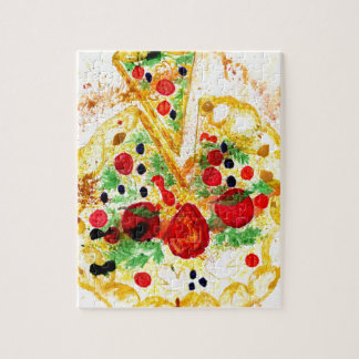 Pizza savoureuse puzzle