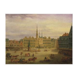 Place de L'Hotel De Ville, Cambrai, c.1780 Toiles