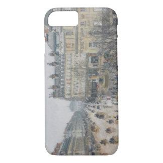 Place du Theatre Francais, Paris : Pluie, 1898 Coque iPhone 7