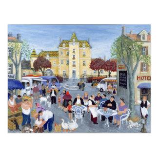 Place en Bourgogne Carte Postale