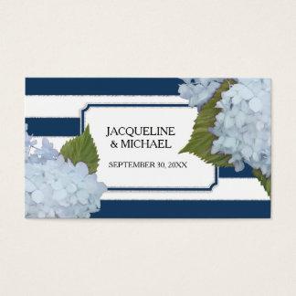 Placez le scintillement bleu anglais d'argent cartes de visite