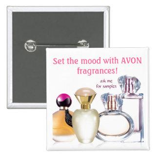 Placez les parfums de Mood~AVON Pin's
