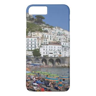 Plage à Amalfi, Campanie, Italie Coque iPhone 7 Plus