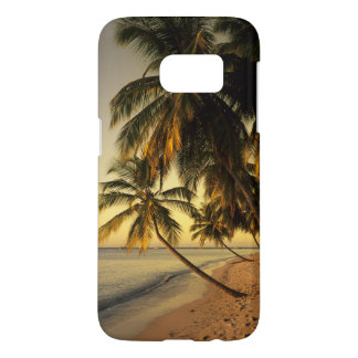 Plage au coucher du soleil, Trinidad Coque Samsung Galaxy S7