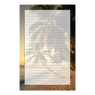 Plage au coucher du soleil, Trinidad Papeterie