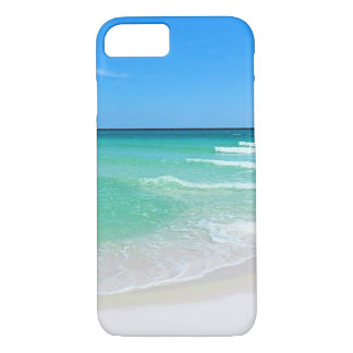 Plage blanche coque iPhone 7