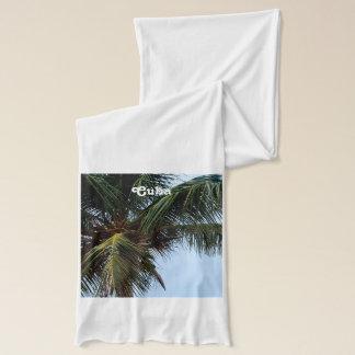 Plage cubaine écharpe