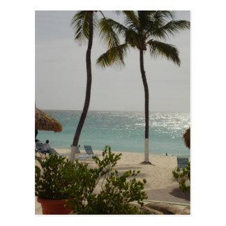 Plage de bébé d'Aruba Cartes Postales