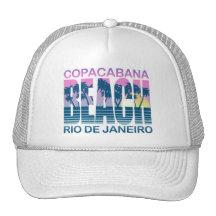 Plage de Copacabana Casquettes De Camionneur