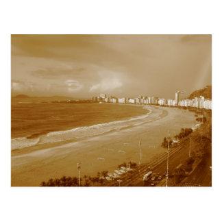 Plage de Copacabana * Rio * Brésil Carte Postale