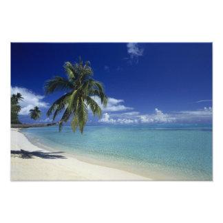 Plage de Matira sur l île de Bora Bora 2 Photos Sur Toile