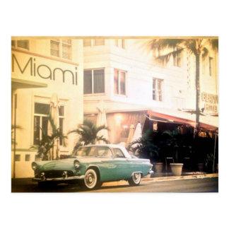 Plage de Miami-Sud Carte Postale