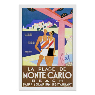 Plage De Monte Carlo de La Poster