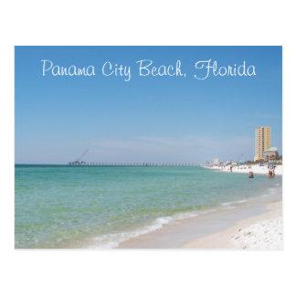 Plage de Panamá City, carte postale de la Floride