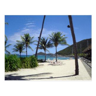 Plage de saphir, St Thomas, Îles Vierges Carte Postale