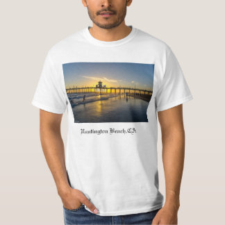 plage de Sunset@Huntington, CA T-shirt