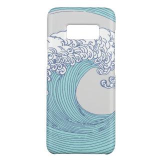 Plage de surf d'océan d'impression d'art de vague coque Case-Mate samsung galaxy s8
