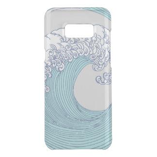 Plage de surf d'océan d'impression d'art de vague coquer get uncommon samsung galaxy s8 plus