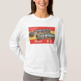 Plage d'entraînement de la Caroline du Sud - océan T-shirt
