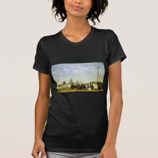 Plage d'Eugene Boudin chez Trouville T-shirts