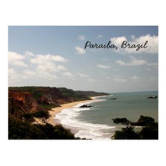 Plage du Brésil Paraiba Cartes Postales