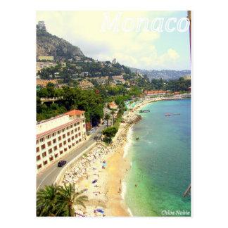 Plage du Monaco Carte Postale