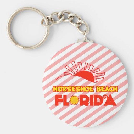 Plage en fer à cheval, la Floride Porte-clefs