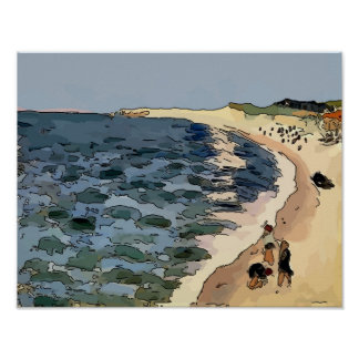 Plage, Fauvism Posters