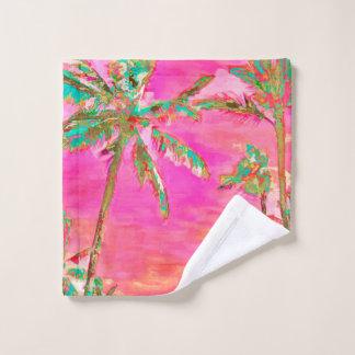 Plage hawaïenne vintage/rose/Teal de PixDezines