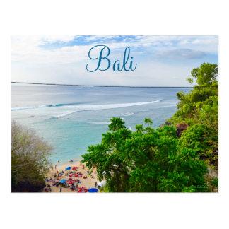 Plage Indonésie de Bali Denpasar Carte Postale