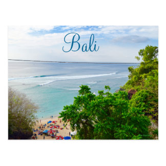 Plage Indonésie de Bali Denpasar Cartes Postales