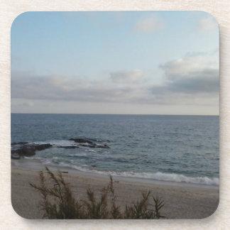 plage isolée dessous-de-verre