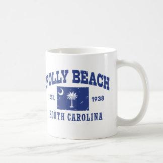 Plage la Caroline du Sud de folie Mug