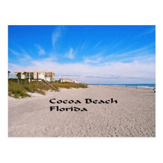 plage la Floride de cacao Cartes Postales
