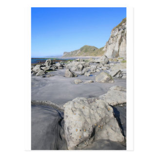 Plage pittoresque Nouvelle Zélande Carte Postale
