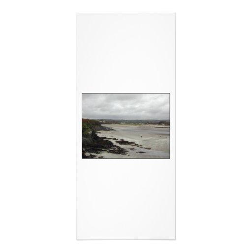 Plage près de baie de Rosscarbery, Irlande Invitations Personnalisées