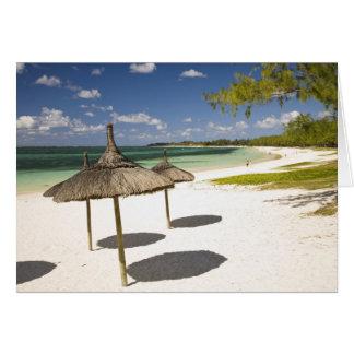 Plage publique de jument de belle, Îles Maurice du Carte De Vœux