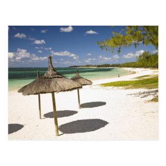 Plage publique de jument de belle, Îles Maurice du Carte Postale