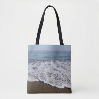Plage/sable/vagues Tote Bag